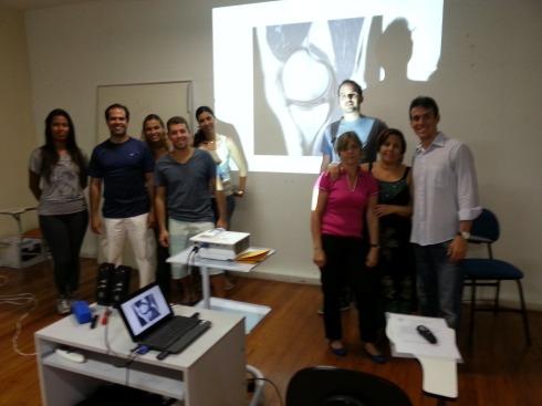II turma do curso de Imagem Ministrado pelo Prof. Frederico Meirelles